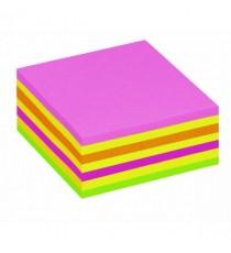 Post It Neon Pink Rainbow Cube