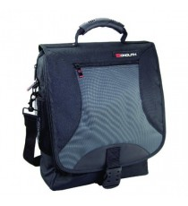 Monolith Nylon Laptop Backpack Blk Gry