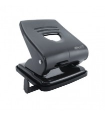 Rapesco 827 2-Hole Metal Punch Black