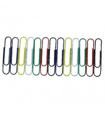 Paperclip Giant 3in Wavy Assorted Pk100