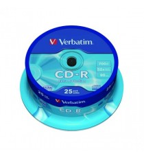 Verbatim CD-R NonPrintable Spindle 43432