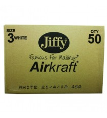 Jiffy Airkraft 220x320mm White Pk50