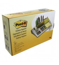 3M Silver Desk Organiser/Post-it Notes