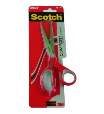 Scotch 180mm Red Comfort Scissors 1427