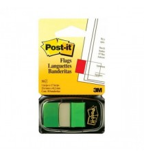 Post-it Index Tab 25mm Green Pk12