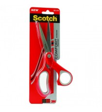 Scotch 200mm Red Comfort Scissors 1428