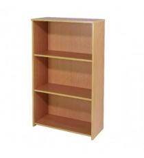 FF Jemini 1225mm Med Bookcase Bav Beech