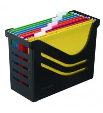 Jalema Recycled Office Box 5 Files Black
