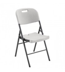 FF Jemini Folding Chair White