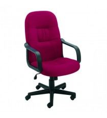 FF Jemini High Back Manager Chair Claret