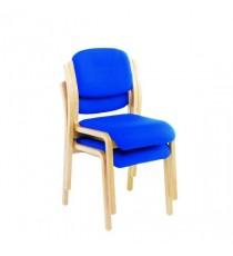 FF Jemini Blu Wood Frame Sidechr No Arms