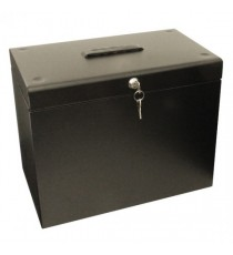 Cathedral Metal File Box HO A4 Black