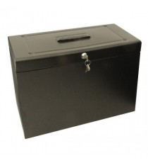Cathedral Metal File Box HO FS Black