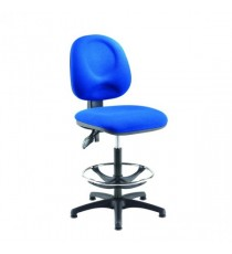 FF Arista Adjust Draughtsman Chair Blue