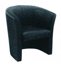 FF Avior Tub Fabric Chair Charcoal