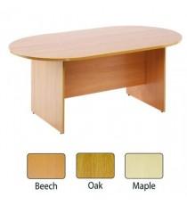 FF Arista 2400mm Boardroom Table Maple