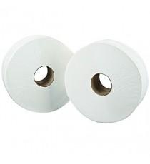 2Work White Jumbo Roll 2 Ply Pk6