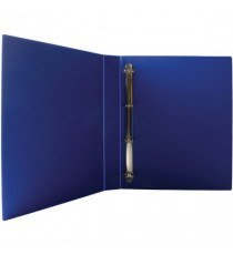Blue 25mm Pres 4D-Ring Binder Pk10