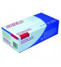 Shield Powder-Free Vinyl Gloves Lg Pk100