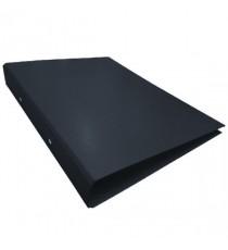 Black A4 2Ring Ring Binder Pk10