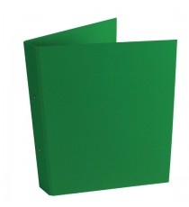 Green A4 2Ring Ring Binder Pk10