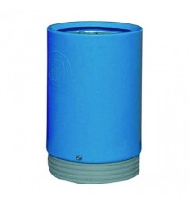 Blue Outdoor Open Top 75Ltr Bin