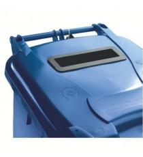 FD 140L Locked Blue Wheelie Bin 377891