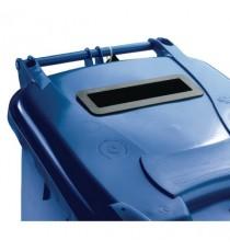FD 240L Locked Blue Wheelie Bin 377892