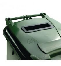 FD 240L Locked Green Wheelie Bin 377916