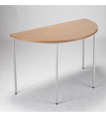 FF Jemini Semi-Circular Table 1600mm Oak