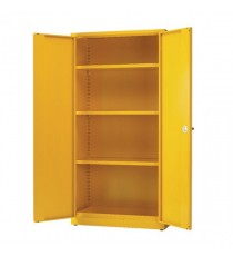 Yellow 3 Shf Hazard Storage Cabinet 72in