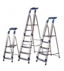 Aluminium Blue Seal 6 Tread Ladder