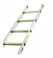 Single Section 8 Rung Aluminium Ladder