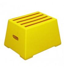 1 Tread Yellow Plastic Safety Step