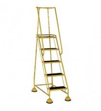 Yellow 5 Tread Step Ladder 385145