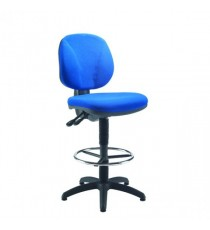 FF Arista Draughtsman Chair Cobalt Blue