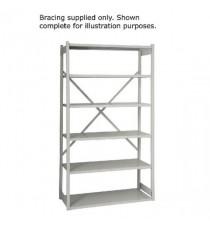 FF Bisley Shelving Bracing Kit W1000 Gry