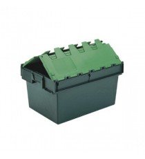 Green 64L Plastic Container/Lid