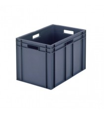 Grey 600x400x280mm Euro Stack Container