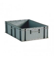 Grey 800x600x235mm Euro Stack Container