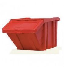 FD Heavy Duty Storage Bin/Lid Red 359519