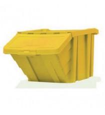 FD Heavy Duty Storage Bin/Lid Ylw 359521