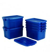 FD Heavy Duty Blue 57L Tote Box 372827