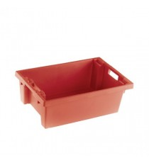 FD Stack/Nest Box 600X400X200mm Red