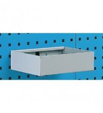 FD Metal Tray Shelf Plain 450mm 306995