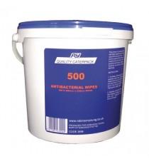 Caterpack Antibacterial Wipes Pk500 3898