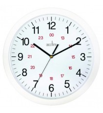Acctim Metro 12in Wht Wall Clock