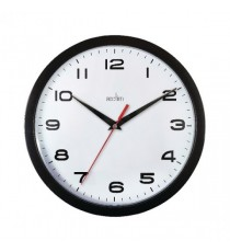 Acctim Aylesbury Wall Clock Blk 92/302