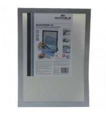 Durable Duraframe A4 Silver Pk2 4872/23
