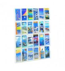 Safco 24 Pocket Deluxe Pamphlet Rack